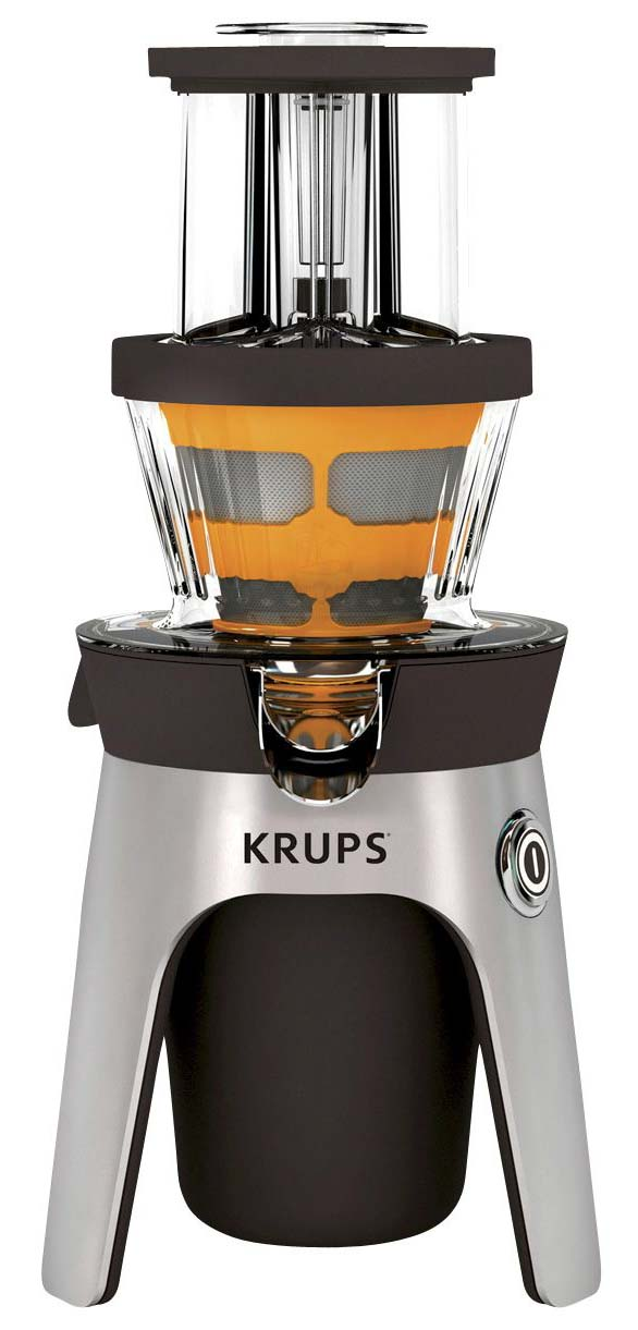 Krups Zb500e Infinity Slow Juice Extractor : Krups Infinity ZB500E Deluxe Quiet Masticating Cold Press ...