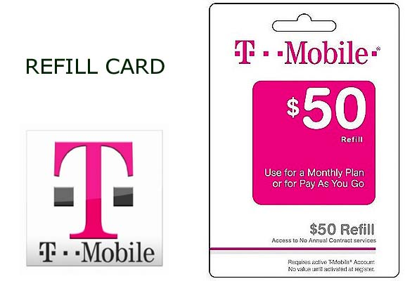 Mobile 50 prepaid refill top up reload and similar items for T mobile refill